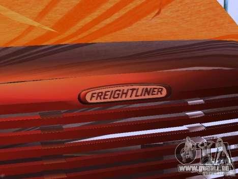 Freightliner Columbia für GTA San Andreas obere Ansicht
