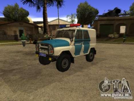 UAZ 31519 Polizei für GTA San Andreas