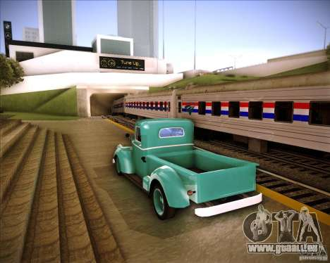 Shubert pickup für GTA San Andreas zurück linke Ansicht