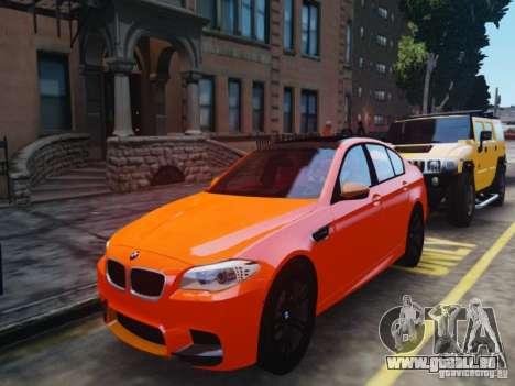 BMW M5 F10 2012 Aige-edit für GTA 4 hinten links Ansicht
