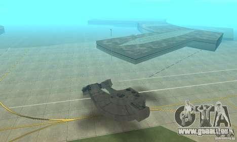 YT-2400 Gazette für GTA San Andreas linke Ansicht