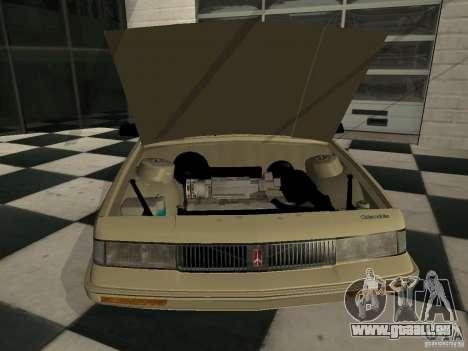 Oldsmobile Cutlass Cruiser 1993 für GTA San Andreas zurück linke Ansicht