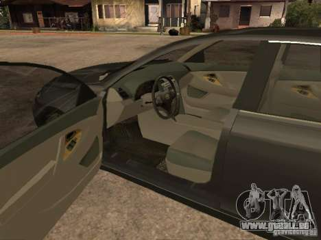 Toyota Camry pour GTA San Andreas sur la vue arrière gauche