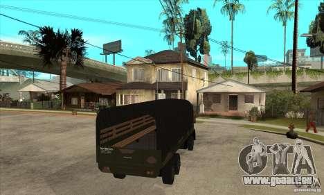 DFT-30 Brazilian Army pour GTA San Andreas vue de droite
