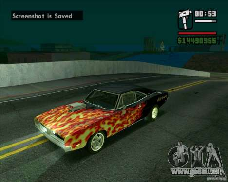 Dodge Charger R/T 69 pour GTA San Andreas
