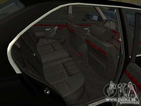 BMW 740I E38 (RUS) für GTA San Andreas Rückansicht