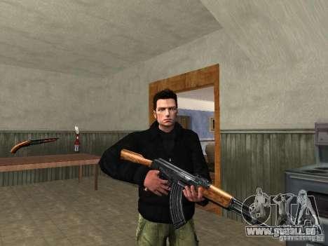 Claude HD Remake (Beta) pour GTA San Andreas