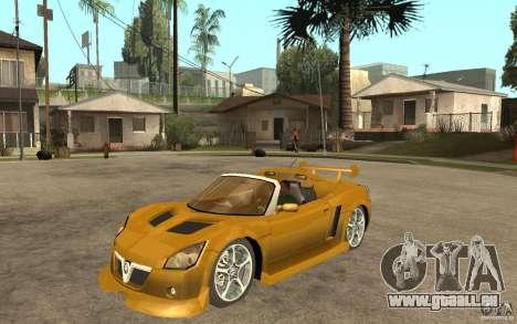 Opel Speedster für GTA San Andreas