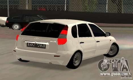 Lada Kalina Hatchback Stock pour GTA San Andreas laissé vue