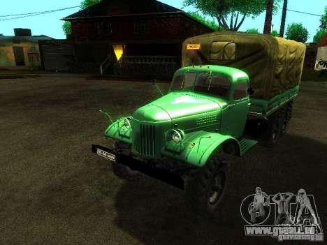 ZIL 157 Truman pour GTA San Andreas vue intérieure