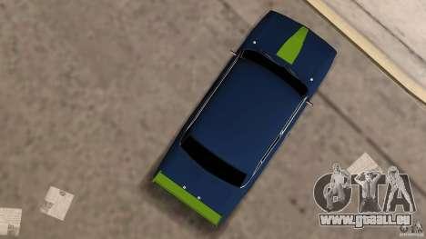 VAZ 2106 Tuning v2.0 pour GTA Vice City vue arrière