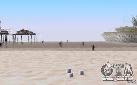 Reality Beach v2 pour GTA San Andreas quatrième écran