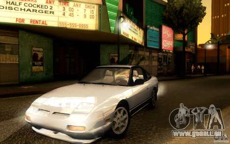 Nissan 180SX Kouki für GTA San Andreas linke Ansicht
