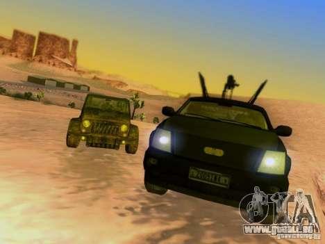 Suv Call Of Duty Modern Warfare 3 für GTA San Andreas Räder