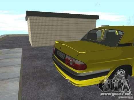GAZ 31105 pour GTA San Andreas vue de droite