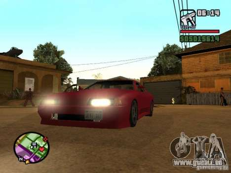 Ultra Elegy v1.0 für GTA San Andreas linke Ansicht
