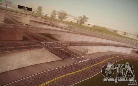 New roads San Fierro pour GTA San Andreas huitième écran
