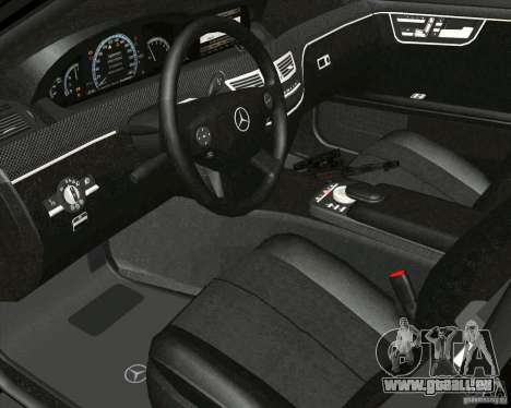 Mercedes-Benz S65 AMG W221 pour GTA San Andreas vue de droite