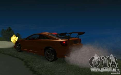 Toyota Celica pour GTA San Andreas roue