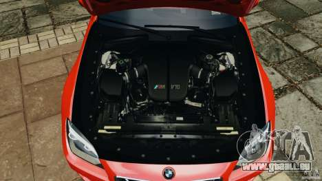 BMW M6 F13 2013 v1.0 für GTA 4 obere Ansicht