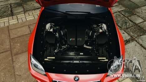 BMW M6 F13 2013 v1.0 pour GTA 4 vue de dessus