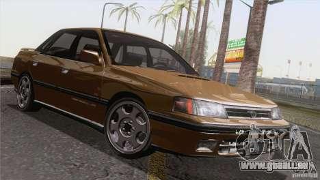 Subaru Legacy RS pour GTA San Andreas vue intérieure