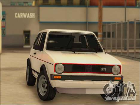 Volkwagen Golf MK1 Stock für GTA San Andreas