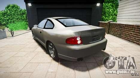 Pontiac GTO 2004 pour GTA 4 Vue arrière de la gauche