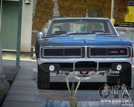 Dodge Charger RT Stock [EPM] pour GTA 4 Vue arrière