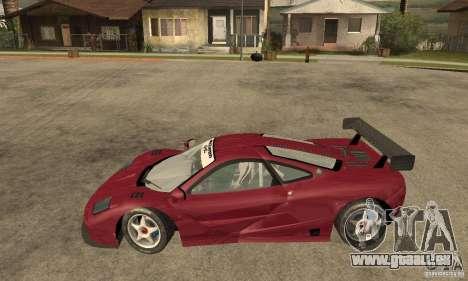 Mclaren F1 GTR (v1.0.0) für GTA San Andreas linke Ansicht