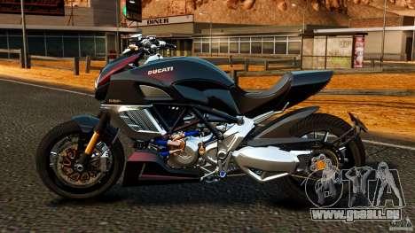 Ducati Diavel Carbon 2011 für GTA 4 linke Ansicht