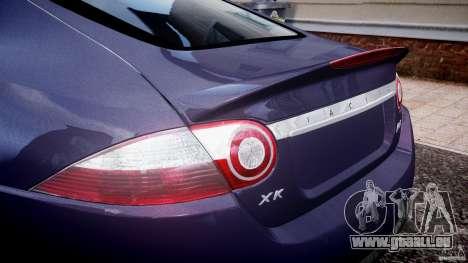 Jaguar XKR-S pour GTA 4 vue de dessus