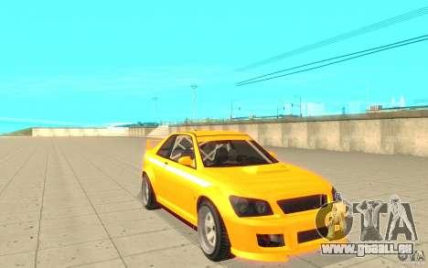 Sultan RS de GTA 4 pour GTA San Andreas