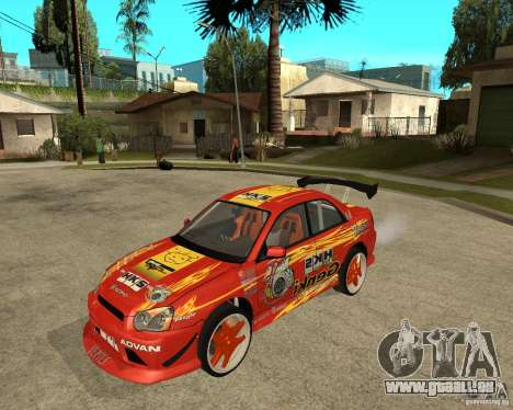 Subaru Impreza WRX STi D1 Spec für GTA San Andreas
