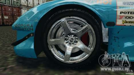 Mazda RX-7 RE-Amemiya v2 für GTA 4 Seitenansicht