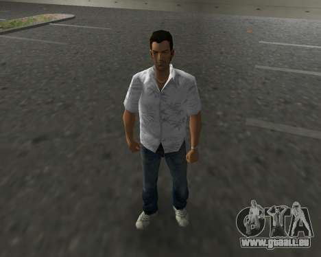 Weißes Hemd für GTA Vice City