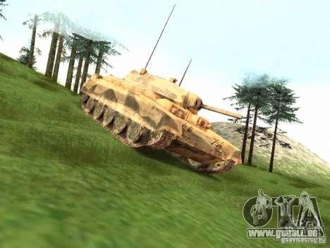 Crusader Mk. III pour GTA San Andreas laissé vue