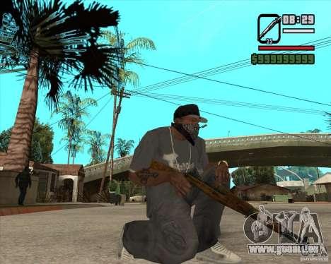 Armes de Pak de Fallout New Vegas pour GTA San Andreas cinquième écran