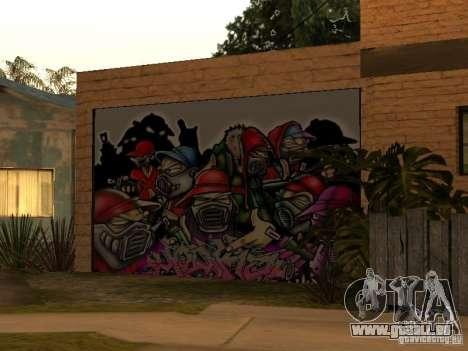 Neue Startseite Cj für GTA San Andreas zweiten Screenshot