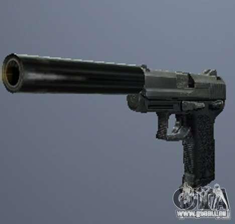 Une série d'armes de stalker V3 pour GTA San Andreas quatrième écran