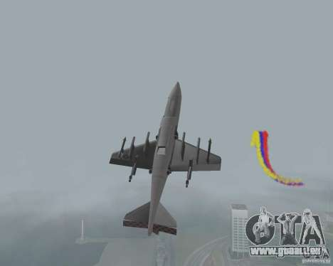 Bunt Streifen für Flugzeuge für GTA San Andreas dritten Screenshot