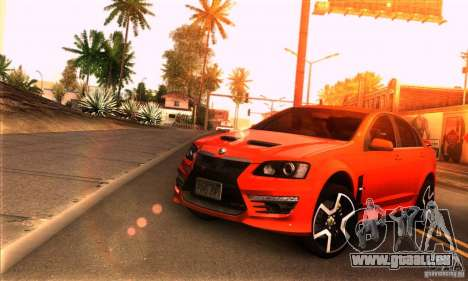 Holden HSV GTS pour GTA San Andreas