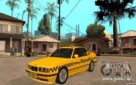 BMW 525tds E34 Taxi pour GTA San Andreas