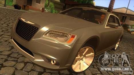 Chrysler 300 SRT-8 2011 V1.0 für GTA San Andreas obere Ansicht