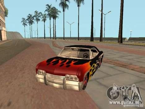 Vinyle pour GTA San Andreas troisième écran