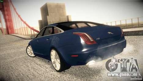 Jaguar XJ 2010 V1.0 pour GTA San Andreas vue de côté