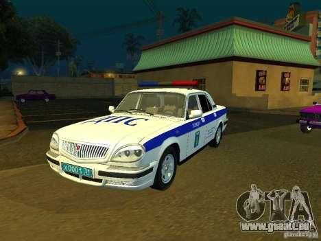 GAZ 31105 Police pour GTA San Andreas
