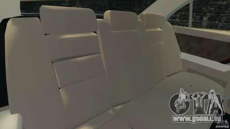 Honda Acura RL pour GTA 4 est une vue de l'intérieur