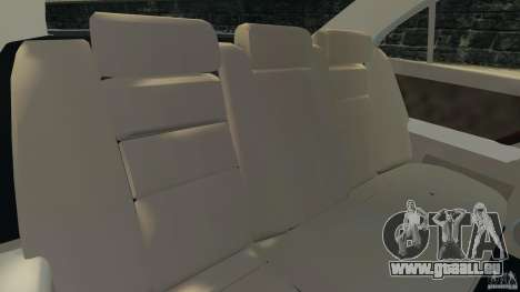 Honda Acura RL für GTA 4 Innenansicht