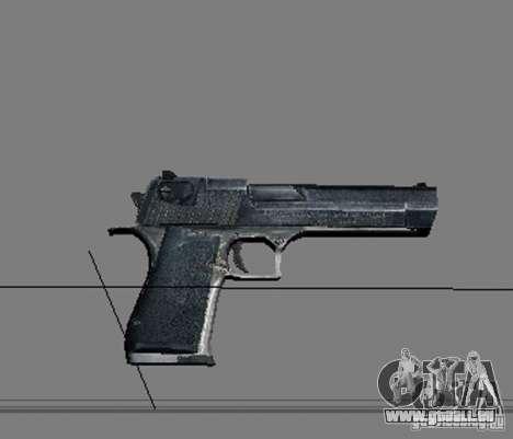 Une série d'armes de stalker V2 pour GTA San Andreas neuvième écran